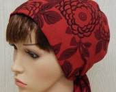 Bad Hair Day Headscarf, Red Head Covering for Jewish Women, Elegant Women's Head Scarf, Long Hair Wrap, Hair Scarves for Prayer