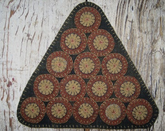 Hand Made Penny Rug~Mollie