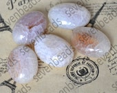 5 beads 18x25mm oval agate nugget stone beads,agate beads ,Agate Gemstone  Beads,agate nugget stone beads loose strands