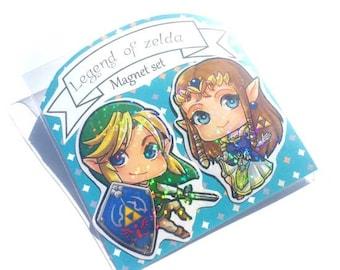 Legend of Zelda Magnet Set of 2