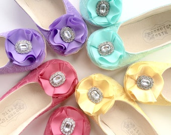 Baby Girl Shoes, Toddler Girl Shoes, Soft Sole Shoes, Wedding Shoes, Flower Girl Shoes, Pink Lace Shoes, Easter Shoes, Infant Shoes-Willow
