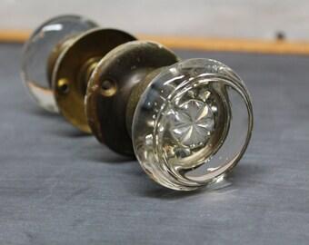 Vintage Mercury Glass Door Knobs