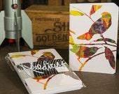 Mini Sketchbook Bird Art Print Edition - Pack of 3