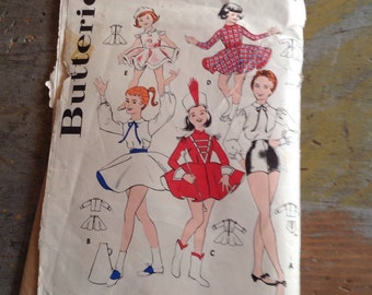 Butterick 8381 Sewing Pattern Fun Time Costumes for Children & Teens 19 Pieces Size 14 Bust 32