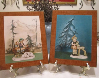 Vintage M J Hummel Wall Plaques - Authentic W. Goebel of West Germany - Buy 1 or Buy 2 - 1970s