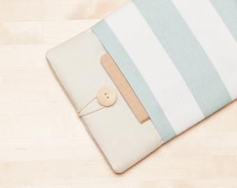 ipad mini case / ipad mini cover / ipad mini sleeve / ipad mini 4 case - Cream stripes  -