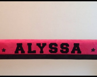Custom Lettering/Decals ONLY- ADD ON for 8' Gymnastics Beams