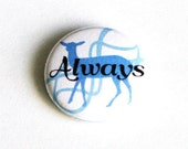 Harry Potter Pinback Buttons Geeky Accessories Small Pins Severus Snape Deer Always