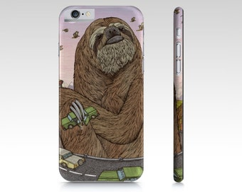 Slothzilla Phone Case