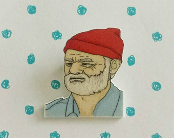Steve Zissou brooch - Bill Murray