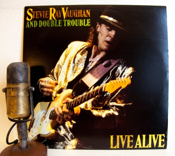 Stevie Ray Vaughan Vinyl Record Album 1980s By Droptheneedle