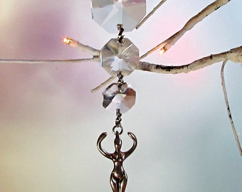 Goddess Crystal Sun Catcher, 1S-18