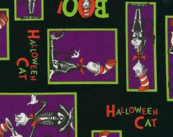 Robert Kaufman Dr. Seuss Spooky Spooktacular Suess Fabric - 1 yard