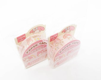 RARE, LAST PIECE Sanrio masking tape 15mm/Sanrio washi tape/My Melody masking tape/masking tape/mt tape/Deco tape/Melody deco tape