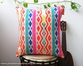 Throw Pillow Mexican GEOMETRIC Multicover Stripe Weave Cushion Cover - Boho Home Decor