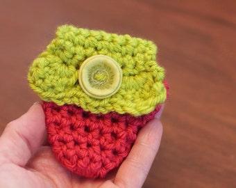 CROCHET PATTERN- Easy Crochet Pattern, Crochet Pouch, Crochet Purse- Crochet Strawberry- Instant Digital Download (13)