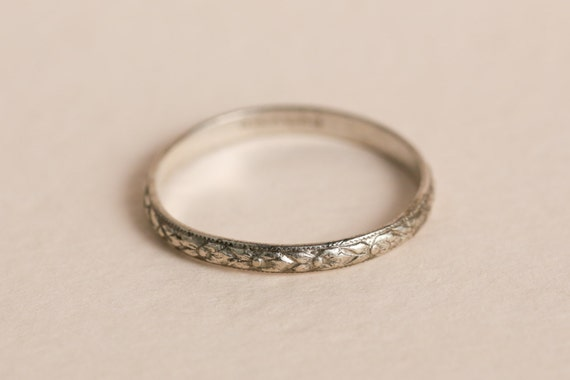 Secondhand Thin Band Wedding Rings