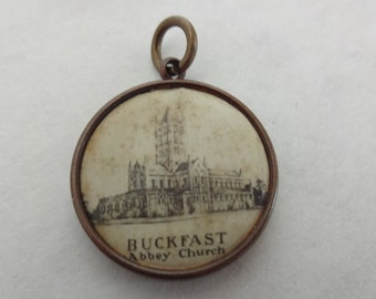 Our Lady of Buckfast Abbey Rare Medal ca 1900