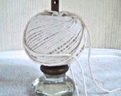 Vintage Reimagined Glass Door Knob Package Twine Holder Craft Room Accessary