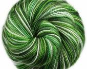 HAWAIIAN MIST Superwash Merino/Nylon/Stellina Fingering Weight Yarn