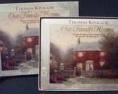 Thomas Kinkade Our Family History Family Tree Book Genealogy Unused