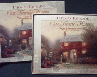 Thomas Kinkade Our Family History Family Tree Book Genealogy Unused