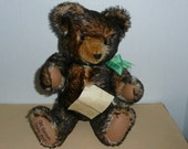 "REDUCED - Hermann Fully Jointed 16"" Mohair Growler ""Old German Teddy Bear Nr. 2121"", 1929 Replica, Made in Germany"
