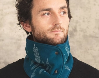 50% off: The Blue Neck Warmer for Men