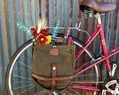 Vintage Swiss Army Breadbag Pannier (single)