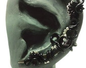 Skeleton Dance Ear Cuff