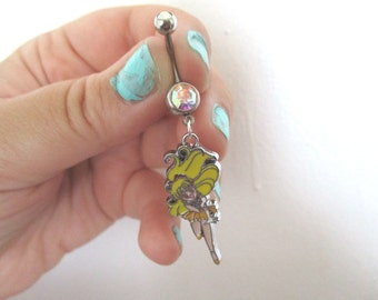 Sailor Moon Bellybutton Ring - SAILOR VENUS - Belly botton Piercing jewelry