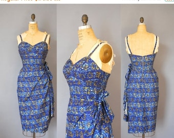 30%OFF 1950s Hawaiian Dress / The Kahala Dress / 50s