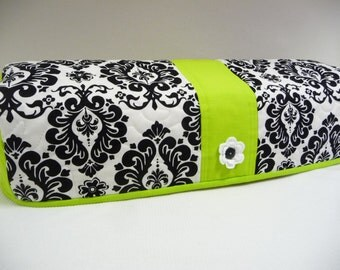 Delightful Damask Lime  - Quilted Cricut Explore Cozy - Explore Cozy - Explore Dust Cover
