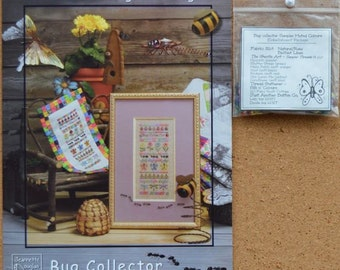 Bug Collector - Muted Colors - Jeannette Douglas - Chart & Embellishment Package