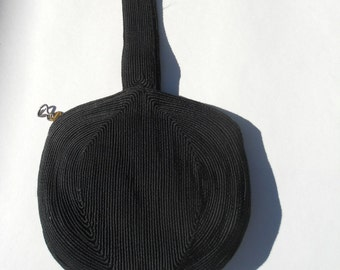 Vintage genuine corde cocktail purse bag clutch
