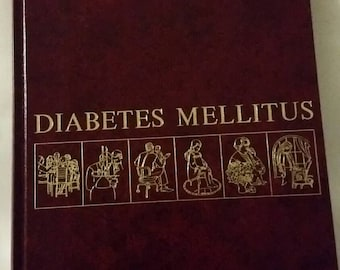 Diabetes Mellitus vintage medical reference book by Lilly Research 1980