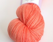 Hand-dyed fingering weight yarn   Round Table Yarns Perceval in Cornwall