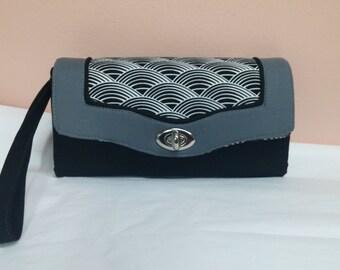 Custom Necessary Wallet, Custom Colors, Accordion Style, Clutch, Key Chain, Wristlet. Chain Purse, Crossbody
