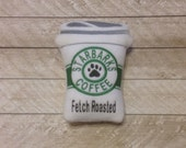 Dog Coffee Cup Squeaky Toy-Medium