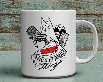 Few of my favorite things a twin peaks 11oz fan mug
