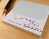 Cute weevil stickynotes
