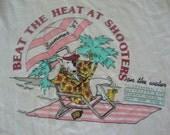 Vintage Spuds Mackenzie Dog 1987 Skateboard Party Animal Beer Soft Thin T shirt M