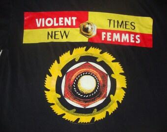 Vintage The VIOLENT FEMMES 1994 90's Concert Tour T shirt XL