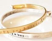 Custom Armenian BraceletArmenian Cuff Bracelet. Gold fill Cuff Bracelet. Armenian Bracelet.