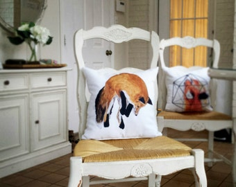 Wild Fox Pillow
