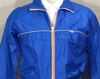Vintage Wilson jackert, Wilson wind breaker, nylon jacket, 80s wind breaker, lightweight jacket