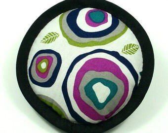 Catnip Toy, Catnip Toys, Geode Cat Toys, Abstract Cat Pillows, Black and Magenta Pillow, Handmade Cat Toys, Catnip Pillows GEODES