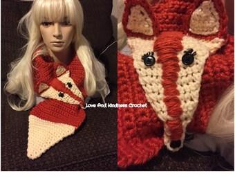 Fox Scarf/Cowl
