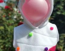 SHOPKINS inspired KIDS Cupcake Hoodie, Costume, Vest, Jacket, Hand-made