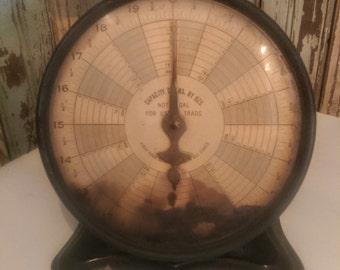 SALE!/Was59/Vintage/Antique Kitchen Scale/Antique Scale/Trimer Scale/Mail Scale